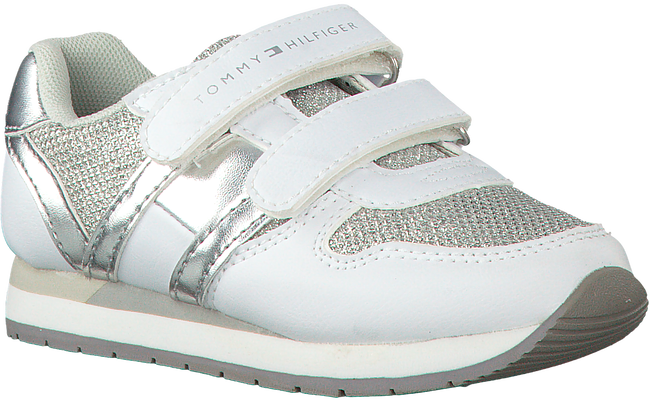 Witte TOMMY HILFIGER Sneakers T24A-00259  - large