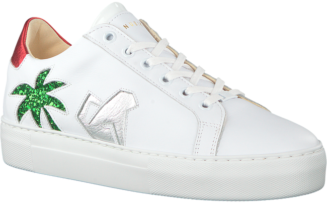 Witte NUBIKK Sneakers JOLIE JUNGLE  - large
