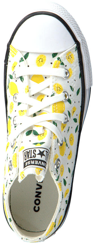 Witte CONVERSE Lage sneakers CHUCK TAYLOR ALL STAR  - larger