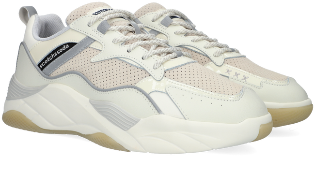 Witte SCOTCH & SODA Lage sneakers CASSIUS  - large