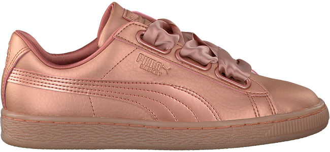Roze PUMA Sneakers BASKET HEART NS DAMES  - large