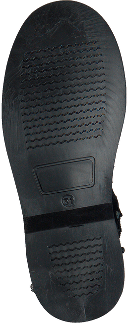 Zwarte GIGA Enkellaarsjes 9511 - large