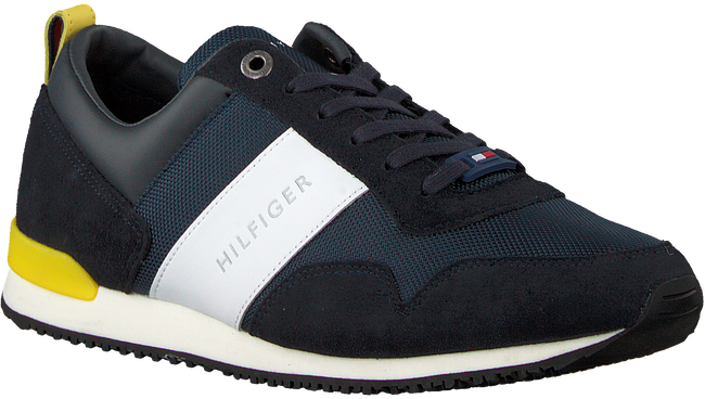 Blauwe TOMMY HILFIGER Sneakers ICONIC RUNNER - large