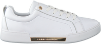 Witte TOMMY HILFIGER Lage sneakers BRANDED OUTSOLE METALLIC  - medium