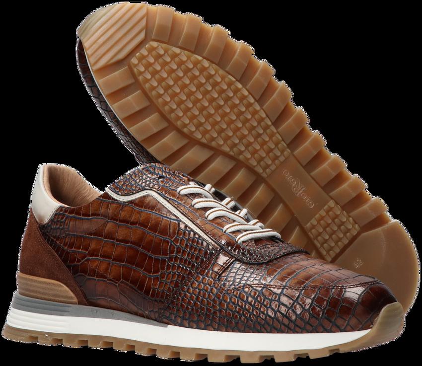 Bruine GIORGIO Lage sneakers 87520  - larger