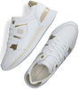 Witte TOMMY HILFIGER Lage sneakers TH INTERLOCK CITY  - small