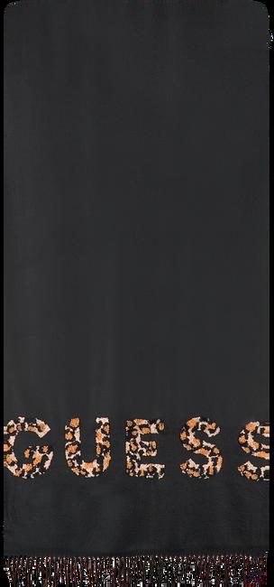 Zwarte GUESS Sjaal DIGITAL SCARF