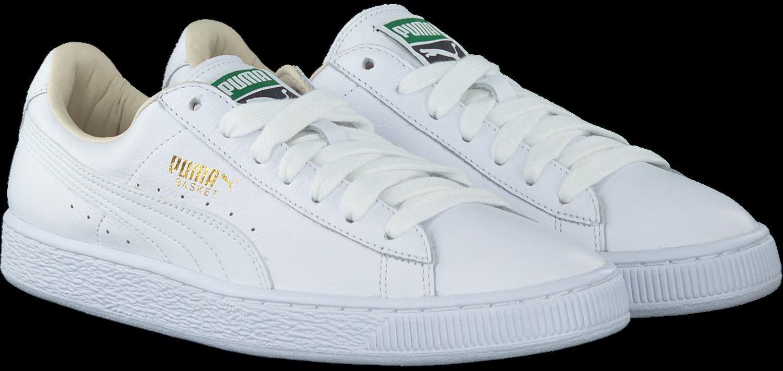 Witte PUMA Sneakers BASKET CLASSIC MEN | Omoda
