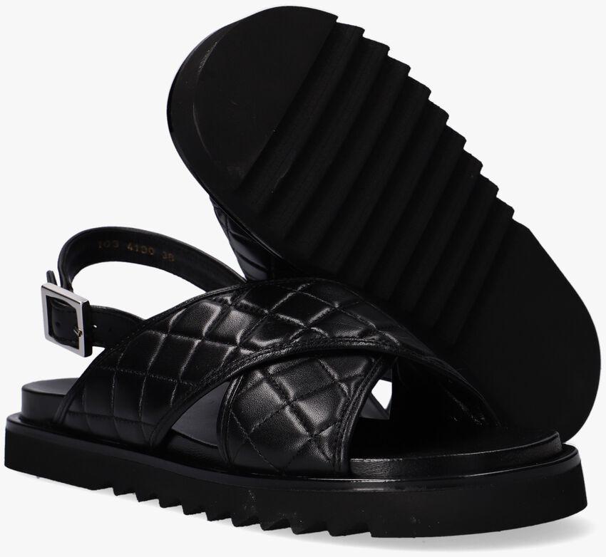 Zwarte BILLI BI Sandalen 4190  - larger