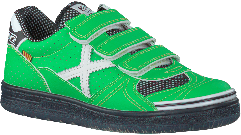 f807682a714 Groene MUNICH Sneakers G3 KID VELCRO - Omoda.nl