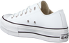 Witte CONVERSE Lage sneakers CHUCK TAYLOR AS LIFT CLEAN OX  - small