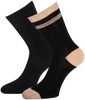 Zwarte MARCMARCS Sokken DAISY COTTON - small