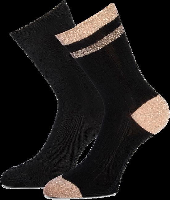 Zwarte MARCMARCS Sokken DAISY COTTON - large