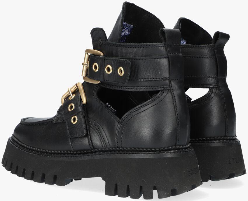 Zwarte BRONX Enkellaarsjes GROOV-Y 47322  - larger