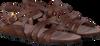 Bruine FRED DE LA BRETONIERE Sandalen 170010063  - small