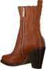 Cognac SHABBIES Enkellaarsjes 183020164 - small