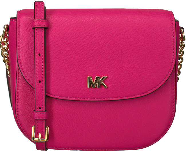 Roze MICHAEL KORS Schoudertas HALF DOME CROSSBODY - large