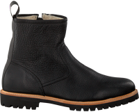 Zwarte BLACKSTONE Enkelboots SG54  - medium
