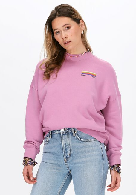 Roze SCOTCH & SODA Sweater OVERSIZED CREWNECK SWEAT WITH  - large