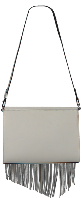 Witte KENDALL & KYLIE Clutch GINZA FRINGE - large