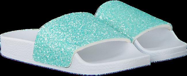 Groene THE WHITE BRAND Slippers GLITTER MATTE  - large