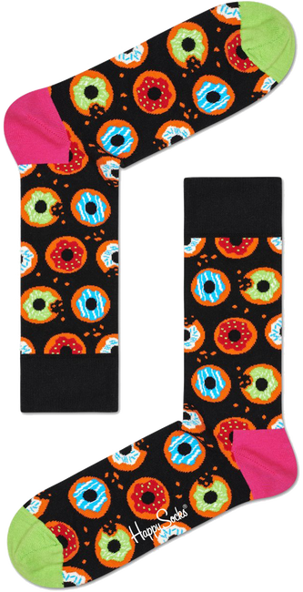 Multi HAPPY SOCKS Sokken DONUT - large