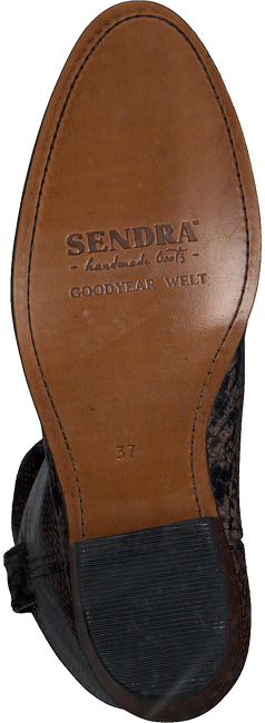 Bruine SENDRA Lange laarzen 14394  - large