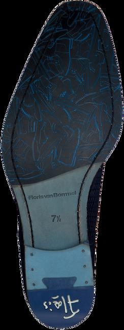 Blauwe FLORIS VAN BOMMEL Nette schoenen 16280  - large
