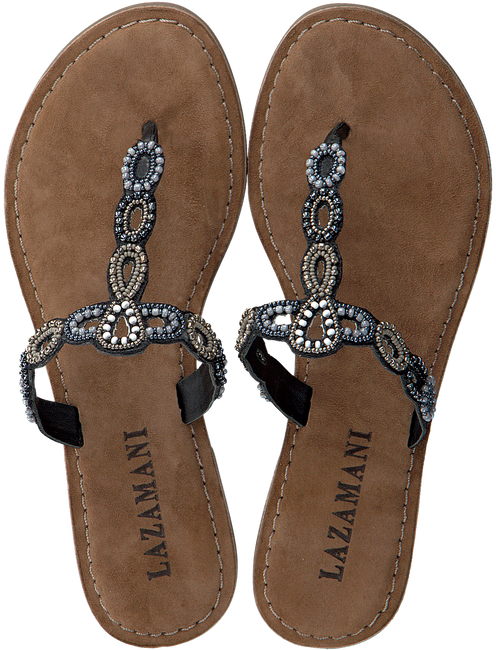 Zwarte LAZAMANI Slippers 75.554  - large