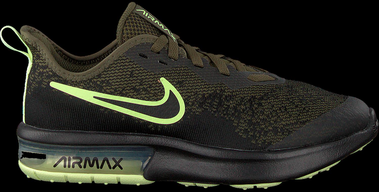 Groene NIKE Sneakers AIR MAX SEQUENT 4 Omoda.nl