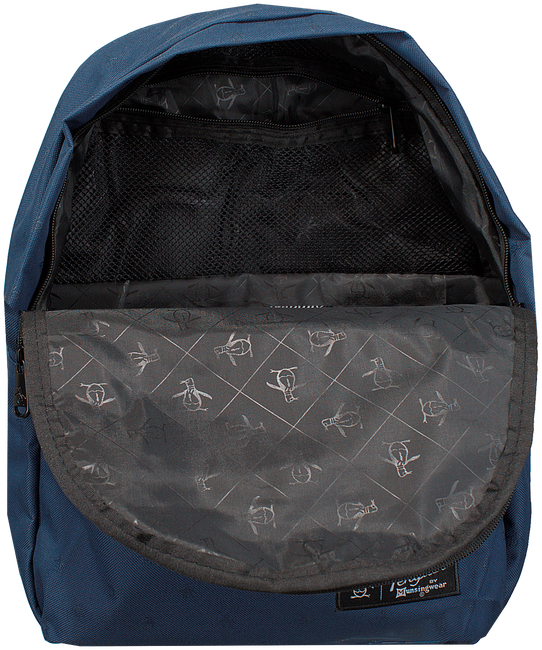 Blauwe ORIGINAL PENGUIN Rugtas CHATHAM AOP PETE BACKPACK - large