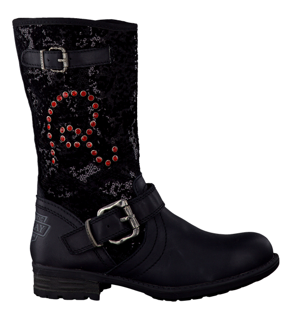 Zwarte REPLAY Lange laarzen MARBLE  - large