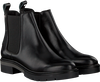Zwarte TOMMY HILFIGER Chelsea boots METALLIC LEATHER CHELSEA BOOT - small