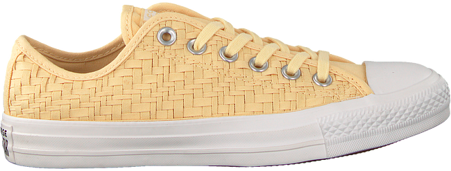 Gele CONVERSE Sneakers CHUCK TAYLOR OX  - large