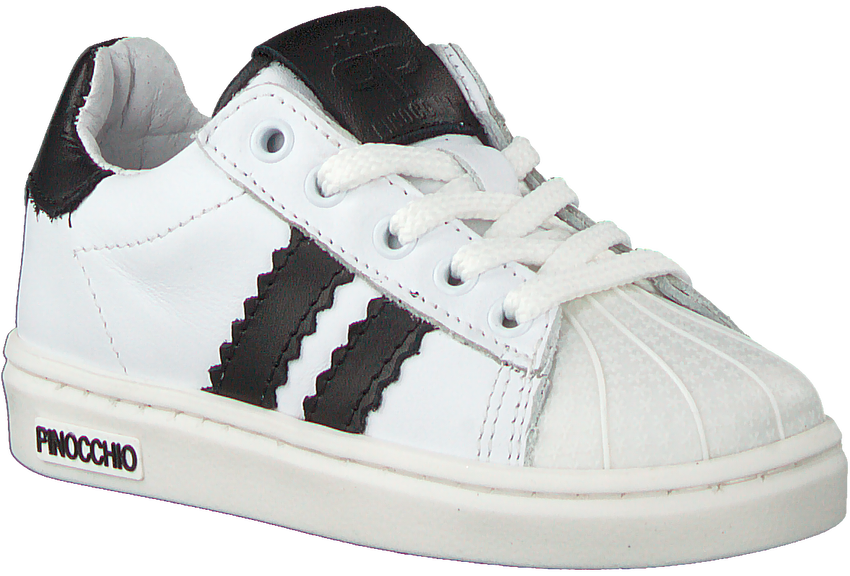Witte PINOCCHIO Lage sneakers P1834  - larger