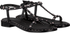 Zwarte BRONX Sandalen 84727 - small
