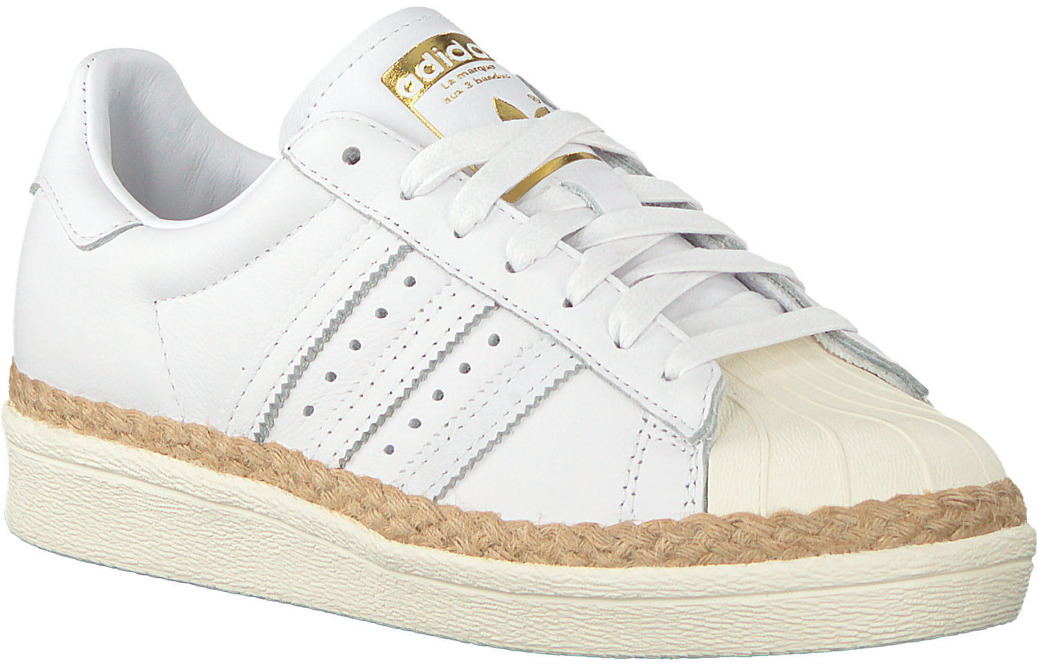 adidas sneakers dames superstar wit