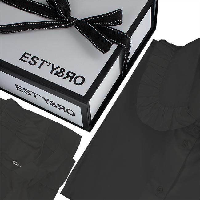 Zwarte EST'Y&RO Kraagje EST'33 - large