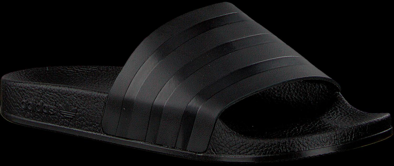 Zwarte ADIDAS Slippers ADILETTE DAMES | Omoda