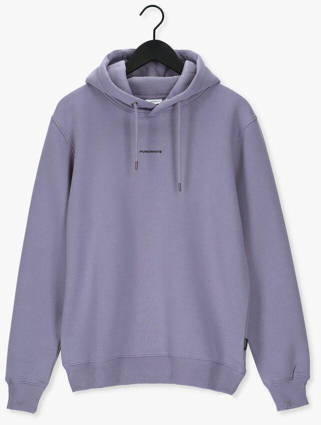 Lila PUREWHITE Sweater PURE LOGO HOODIE - larger