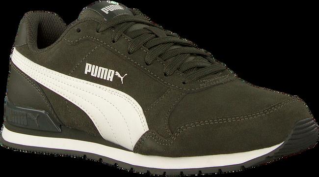 Groene PUMA Sneakers ST RUNNER V2 SD JR - large