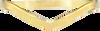 Gouden MY JEWELLERY Armband V BANGLE - small
