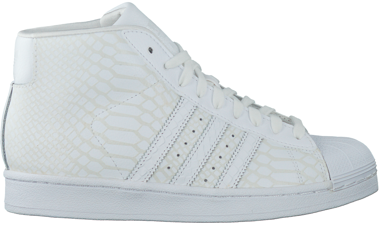 752def95f15 Witte ADIDAS Sneakers PRO MODEL DAMES - large. Next