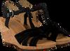 Zwarte GABOR Sandalen 828 - small