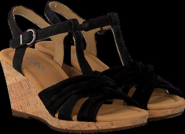 Zwarte GABOR Sandalen 828 - large