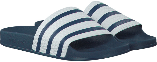 Blauwe ADIDAS Slippers ADILETTE MEN - large