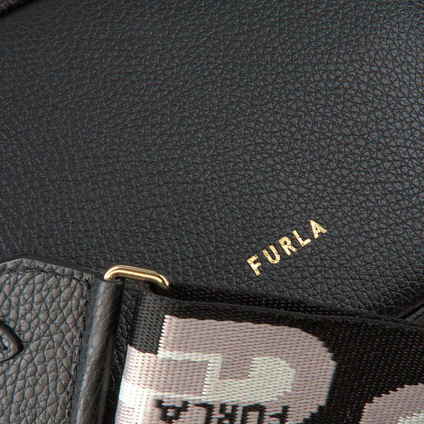 Zwarte FURLA Schoudertas FURLA REAL MINI CAMERA CASE  - larger