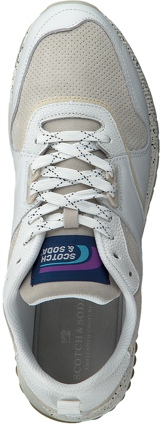 Witte SCOTCH & SODA Sneakers VIVEX  - larger