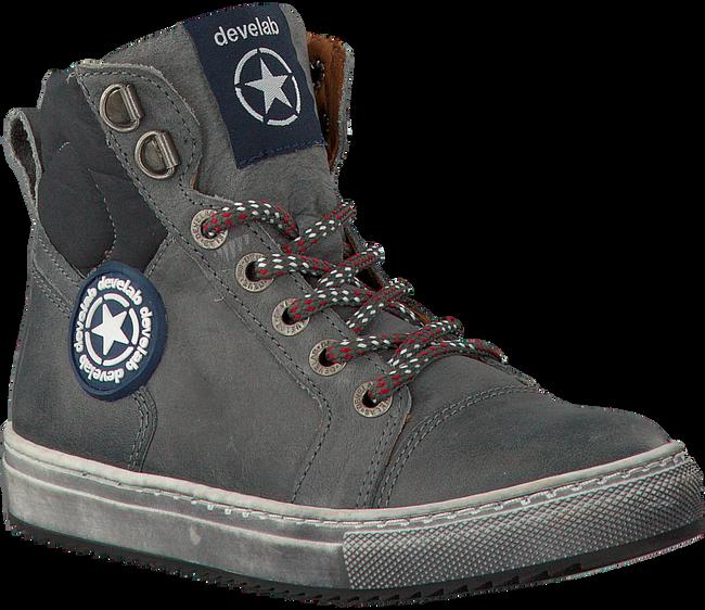 Grijze DEVELAB Sneakers 41537  - large