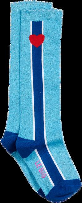 Blauwe LE BIG Sokken STEFFIE KNEE HIGH  - large